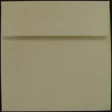 Cougar Opaque Square Envelopes - White & Natural