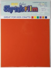 Grafix Colored Shrink Film Assortment