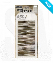 Tim Holtz® Stampers Anonymous Layering Stencils -- String THS103