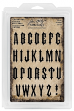Tim Holtz® Idea-ology™ Stamps - Foam Stamps: Gothic