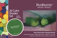 PanPastel 20 Color Set -- Shades