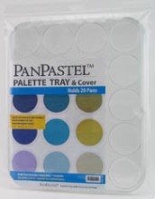 PanPastel Palette Tray & Cover -- Holds 20 Colors (Supplied Empty)
