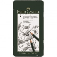 Faber-Castell Graphite Pencil CASTELL 9000 Art Set - Set of 12