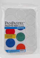 PanPastel Palette Tray & Cover -- Holds 10 Colors (Supplied Empty)
