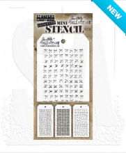 Tim Holtz® Stampers Anonymous Mini Layering Stencil Set #33 MST033