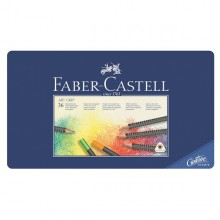 Faber-Castell Art Grip Colored Pencils - Tin of 36