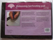 Pergamano Extra Large Embossing/Perforating Pad