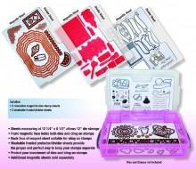 Zutter Magnetic Die & Stamp Storage Sheet Refills