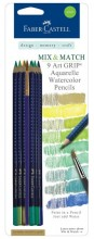 Faber-Castell Art GRIP® Aquarelle Watercolor Pencils - Green