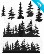 Tim Holtz® Stampers Anonymous Cling Mount Sets -- Tree Line CMS244