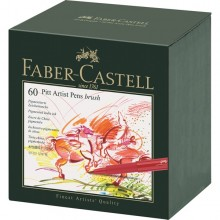 Faber-Castell Pitt Artist Brush Pens - Studio Box of 60