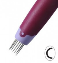 Pergamano Semi Circle Perforating Tool