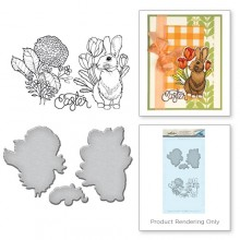 Bunny Stamp & Die Set SDS-063