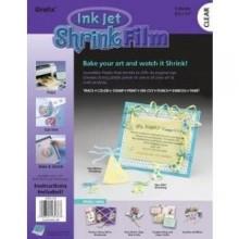 Grafix Inkjet Printable Shrink Film -- Clear