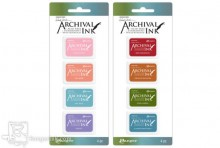 Wendy Vecchi Mini Archival Ink Pad Kits - January 2018 Colors