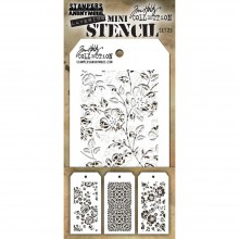 Tim Holtz® Stampers Anonymous Mini Layering Stencil Set #25 MTS025