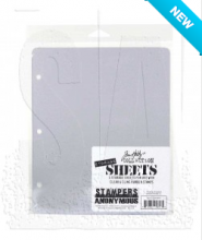 Tim Holtz® Stampers Anonymous Stamp Storage Sheets THSTOR