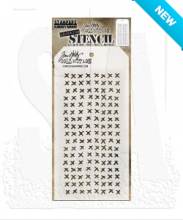 Tim Holtz® Stampers Anonymous Layering Stencils -- Stitched THS099