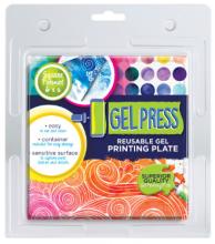 """Gel Press 6"""" x 6"""" Reusable Gel Printing Plate"""