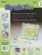 Grafix Regular Shrink Film -- White