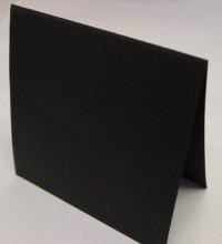 Astrobrights Black Prefolded Square Cards