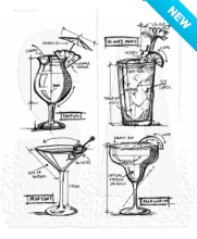 Tim holtz stampers anonymous cling mount sets cocktails tim holtz stampers anonymous cling mount sets cocktails blueprint cms335 malvernweather Choice Image