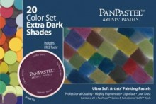 PanPastel 20 Color Set -- Extra Dark Shades