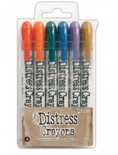Tim Holtz® Distress Crayons Set #9