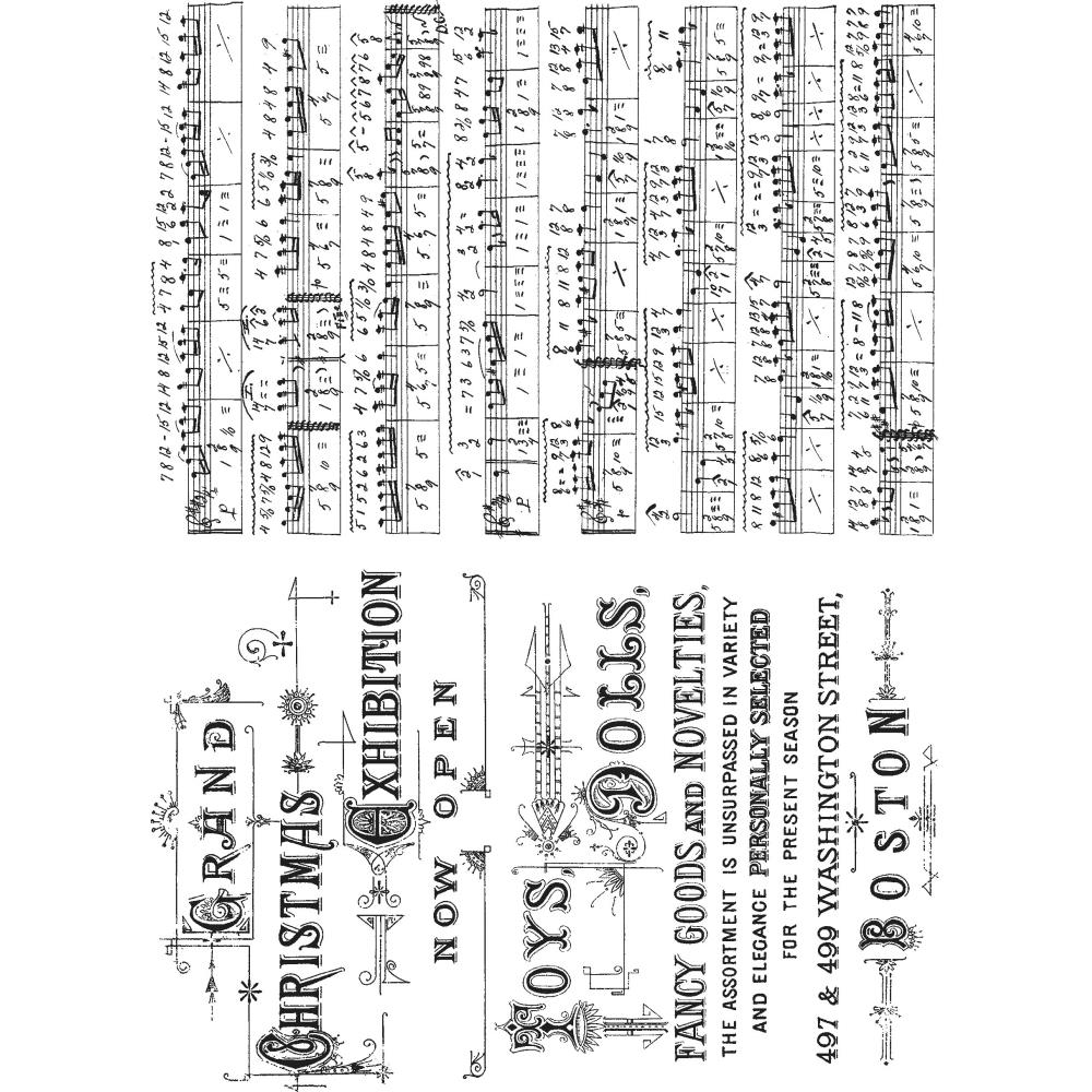 Stampers Anonymous CMS291 Tim Holtz Cling Stamps 7X8.5-Motivation 3