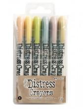 Tim Holtz® Distress Crayons Set #8