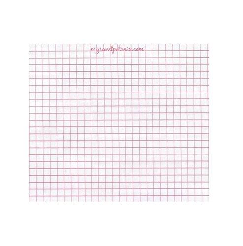 mini misti grid paper pad