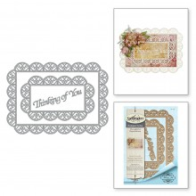 Thinking of You Scalloped Rectangle S6-135