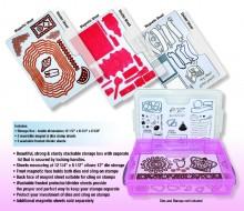 Zutter Magnetic Die & Stamp Storage System